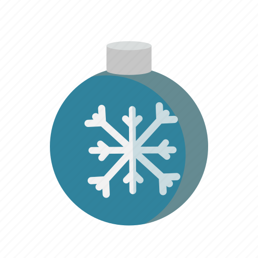 ball, christmas, decoration, snowflake, xmas icon