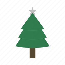 christmas, evergreen, nature, park, pine, pinetree, tree icon icon