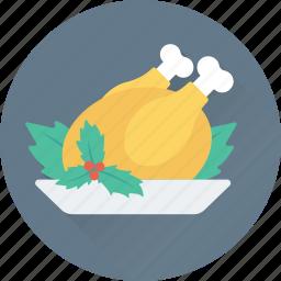 chicken, food, grilled, roast, turkey icon