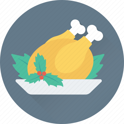 chicken, food, grilled, roast, turkey icon