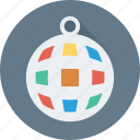 disco, disco ball, lighting, lights, party icon