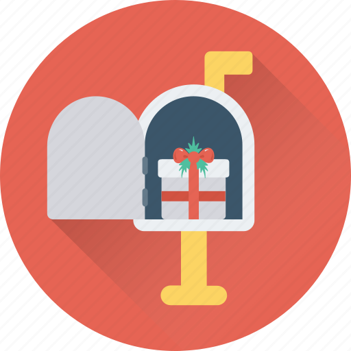 courier, gift, letterbox, mailbox, present icon