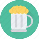 ale, beer, beer mug, beer stein, pint icon