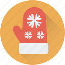 glove, mitten, snow gloves, winter icon