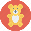 animal, bear, teddy bear, toy, valentine icon