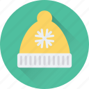clothing, hat, santa cap, santa claus, santa hat icon
