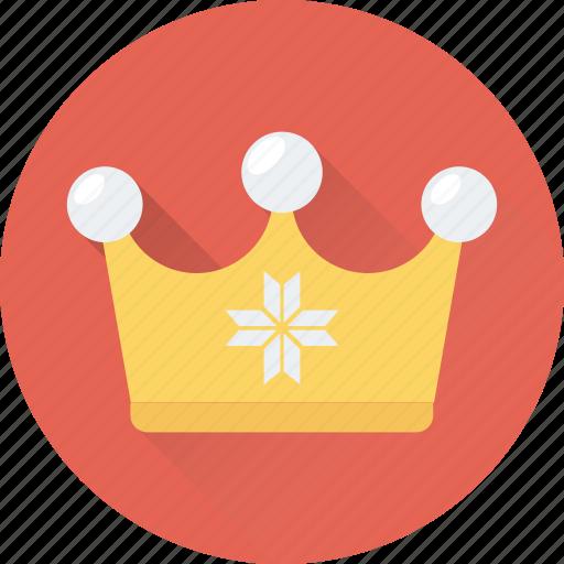 crown, headgear, king, nobility, royal icon