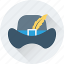 clothing, cowboy hat, floppy hat, hat, summer hat icon