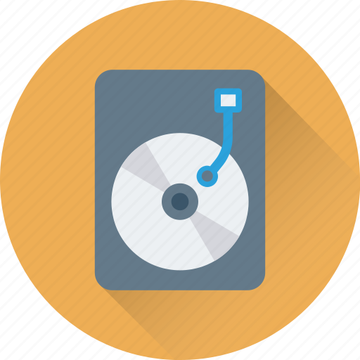 multimedia, music, record player, turntable, vinyl icon