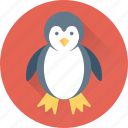 animal, auk, emperor penguin, penguin, puffin icon