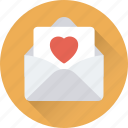 greetings, invitation, letter, love letter, postcard icon