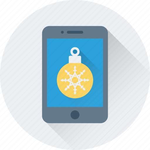 app, bauble, christmas app, mobile, smartphone icon