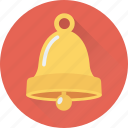christmas bell, ring, bell, alert, church icon