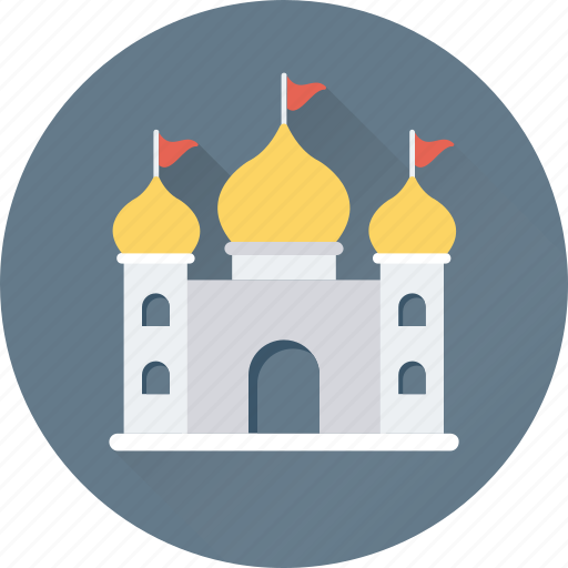 building, mosque, pray, temple, worship icon