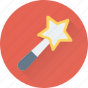 magic, magic stick, magician, wand, wizard icon