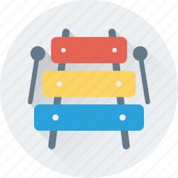 multimedia, music, musical instrument, sound, xylophone icon