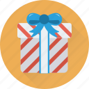 present box, gift, gift box, present, wrapped gift icon