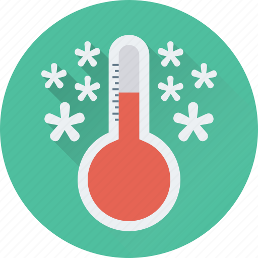climate, temperature, thermometer, weather, winter icon