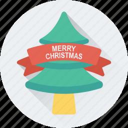 christmas tree, fir tree, merry christmas, nature, pine tree icon