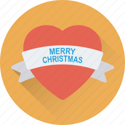 heart, love, merry christmas, romantic, valentine icon