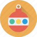 bauble, bauble ball, christmas, christmas bauble, decorations icon