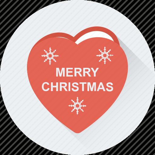 heart, love, merry christmas, romantic, valentine icon