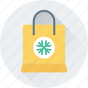 christmas, shopper, shopping, shopping bag, tote bag icon