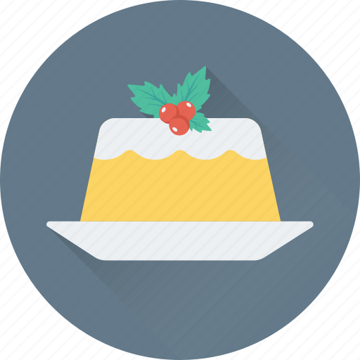 Birthday Cake Celebration Christmas Party Icon