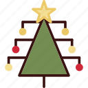 christmas, decoration, holiday, holidays, tree icon