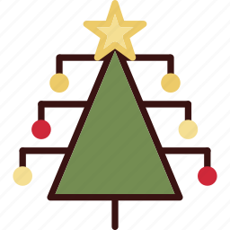christmas, decoration, holiday, holidays, tree icon