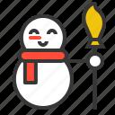 avatar, christmas, snow, snowman, xmas