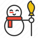 avatar, christmas, snow, snowman, xmas icon