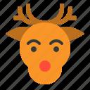 animal, christmas, deer, merry, reindeer, xmas