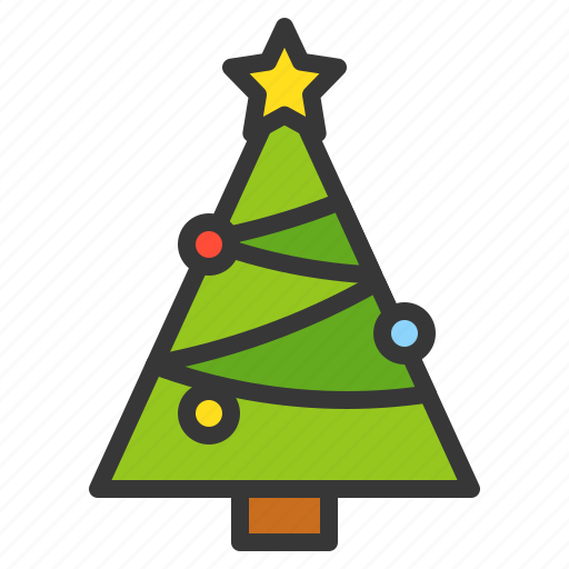 Christmas, christmas tree, pine, tree, xmas icon - Download on Iconfinder