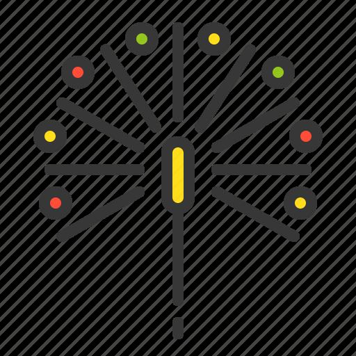 celebration, christmas, firework, party, xmas icon