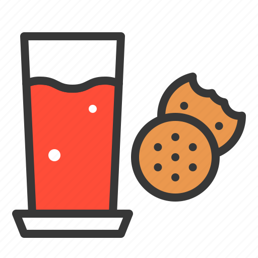 appetizer, christmas, cracker, snack, xmas icon