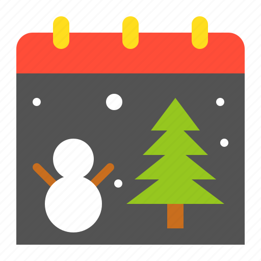 appointment, calendar, christmas, christmas day, merry icon
