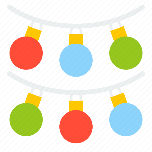 bauble, christmas, decoration, hanging ball, merry icon