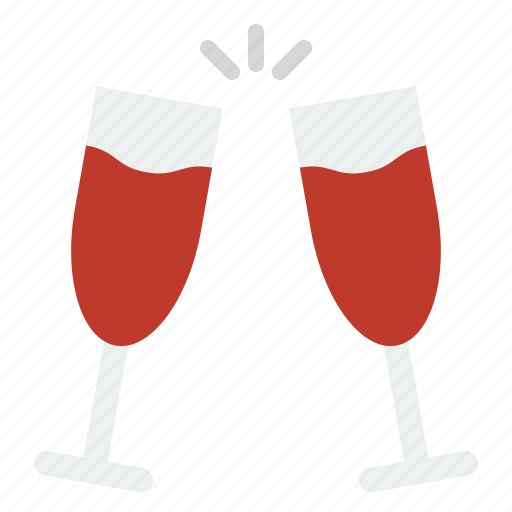 beverage, celebration, champaign, christmas, drinks, merry icon