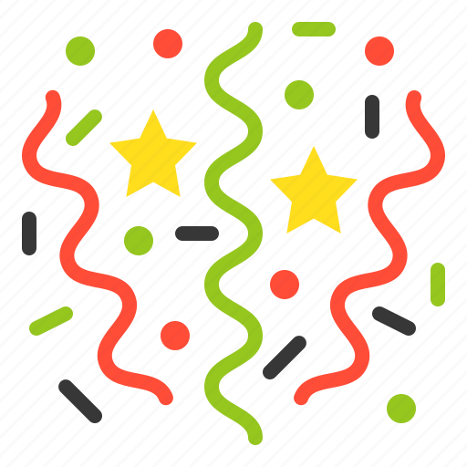 celebration, christmas, merry, new year, party icon