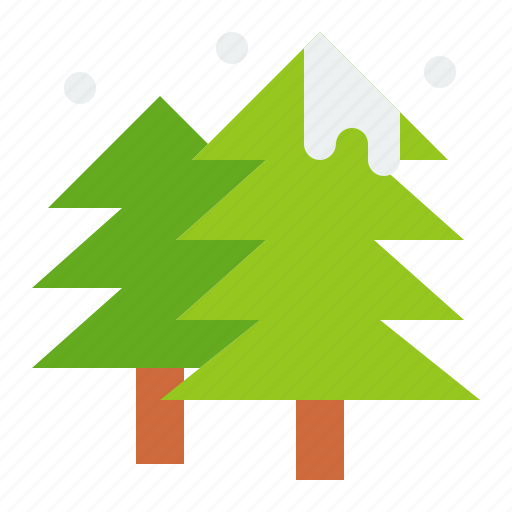 christmas, merry, pine, tree, winter icon
