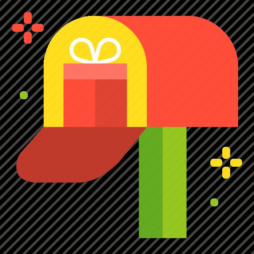 christmas, gift, gift box, merry, present icon