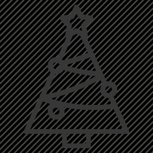 christmas, christmas tree, pine, tree, xmas icon