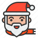 avatar, christmas, santa, santa claus, xmas icon