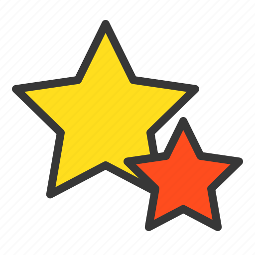 Christmas, star, twin star, two star, xmas icon - Download on Iconfinder