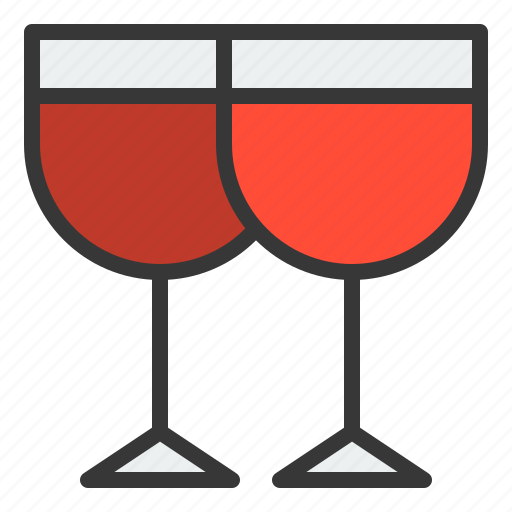 beverage, champagne, christmas, drinks, xmas icon