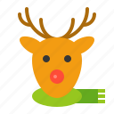 animal, deer, christmas, reindeer, merry, xmas