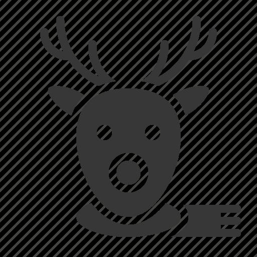 animal, christmas, deer, merry, reindeer, xmas icon