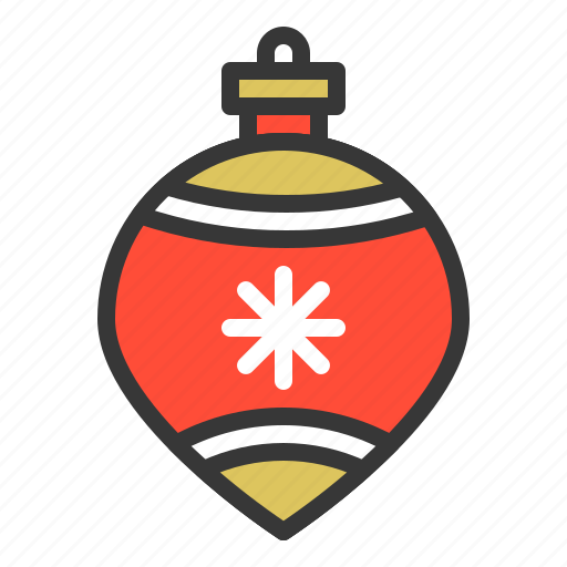Bauble, christmas, ornament, xmas icon - Download on Iconfinder