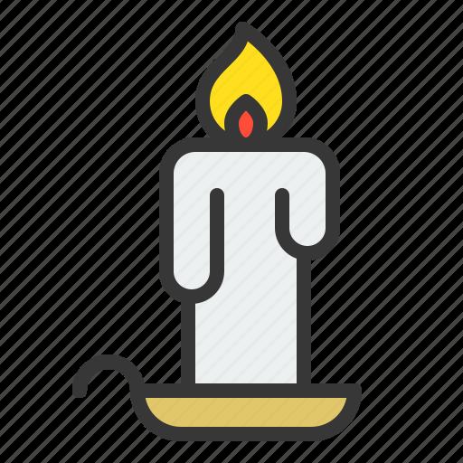 candle, christmas, illumination, light, xmas icon